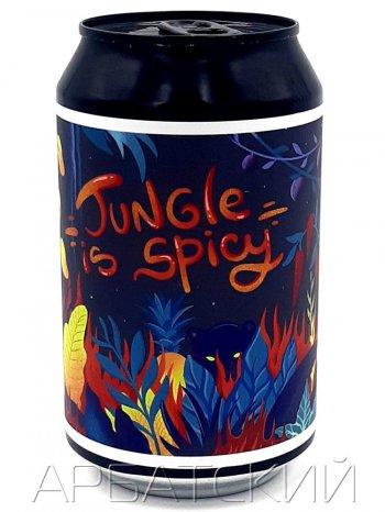 Блэк Кэт Джангл Из Спайси / Black Cat Jungle Is Spisy 0,33л. алк.4,5% ж/б.