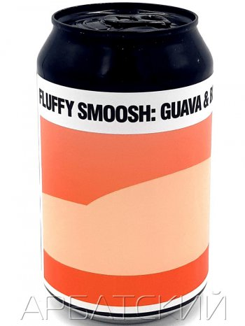Блэк Кэт Флаффи Смуш Гуава Блуберри / Black Cat Fluffy Smoosh Guava Blueberry 0,33л. алк. 4,5% ж/б.
