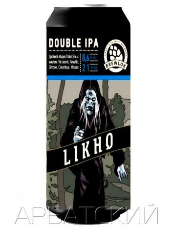 Брелок Лихо Одноглазое / Brewlok Likho 0,5л. алк.8,6%