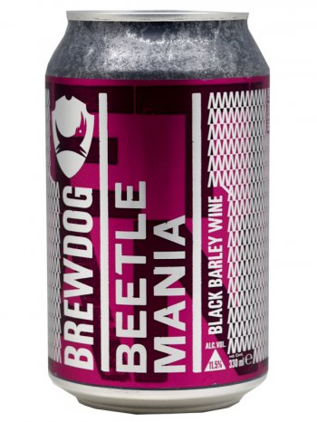 Брюдог Битл Мания / BrewDog Beetle Mania 0,33л. алк.11,5% ж/б.