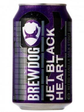 Брюдог Джет Блэк Харт / BrewDog Jet Black Heart 0,33л. алк.4,7% ж/б.