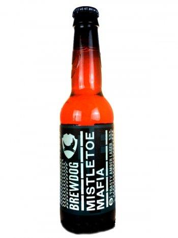 Брюдог Мислтоу Мафия / BrewDog Mistletoe Mafia 0,33л. алк.4,5%