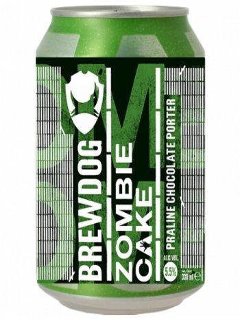 Брюдог Зомби Кэйк / BrewDog Zombie Cake 0,33л. алк.5,5% ж/б.