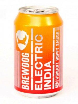 Брюдог Электрик Индия / Brewdog Electric India 0,33л. алк. 5,2% ж/б.