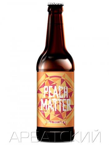 ДЖОУС Фрут Бир (Пич Мэтте) / Jaws Peach Matter 0,5л. алк.7%