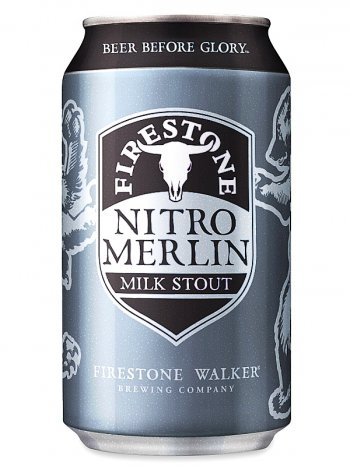 Файерстоун Уолкер Нитро Мерлин Милк Стаут/Firestone Walker Nitro Merlin 0,355л. алк.5,5% ж/б.