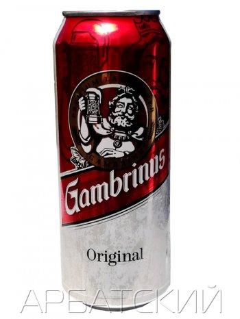 Гамбринус Оригинал / Gambrinus Original 0,5л. алк.4,3% ж/б.