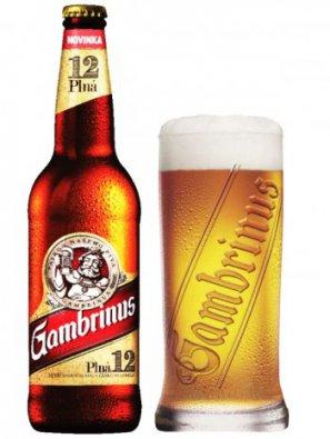 Гамбринус Премиум 12 / GAMBRINUS PREMIUM 12   0,5л. алк.5,2%