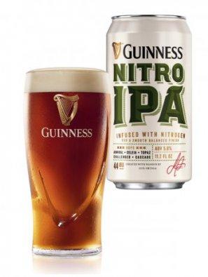 Гиннесс Нитро ИПА / Guinness Nitro IPA  0,44л. алк.5,3% ж/б.