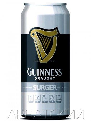 Гиннесс Соргер Драфт / Guinness Draught Surger 0,52л. алк.4,1% ж/б.