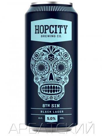 Хопсити 8 Син / Hop City 8Th Sin 0,473л. 5% ж/б.