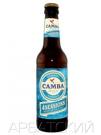 Камба 4 Сезона / Camba  4 Sessions 0,33л. алк.4,1%