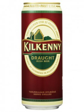 Килкенни Драфт с азотной капсулой / Kilkenny Draught 0,44л. алк.4,3% ж/б.