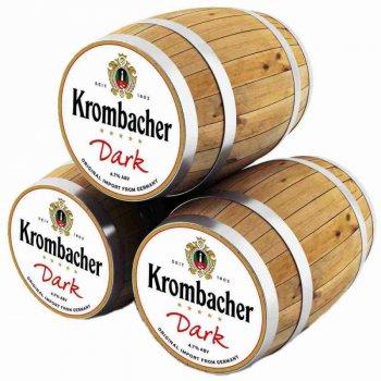 Кромбахер Дарк / Krombacher Dark, keg. алк.4,7%