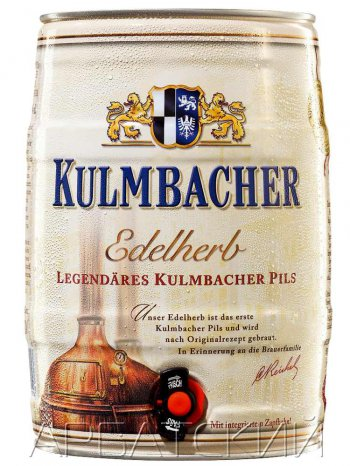 Кульмбахер Эдельхерб  Премиум Пилс / Kulmbacher Edelherb Premium Pils 5л. алк.4,9% ж/б.