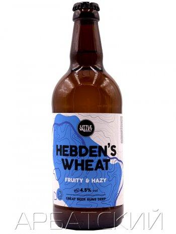 Литл Вели Хебденс Вит / Little Valley Hebdens Wheat 0,5л. алк.4,5%
