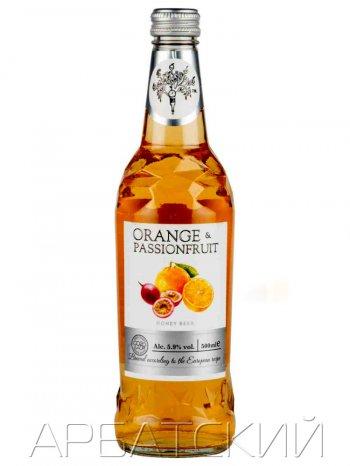 Медовуха МИСТЕР ТРИ  Со вкусом Можжевел-апельсин / Mr.Tree Juniper Orange 0,5л. алк.5,9%