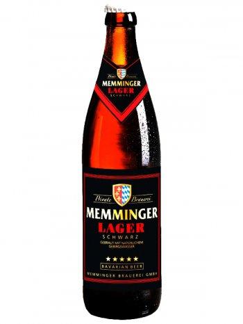 Меммингер Лагер Шварц / Memminger Lager Schwarz 0,5л. алк.5%