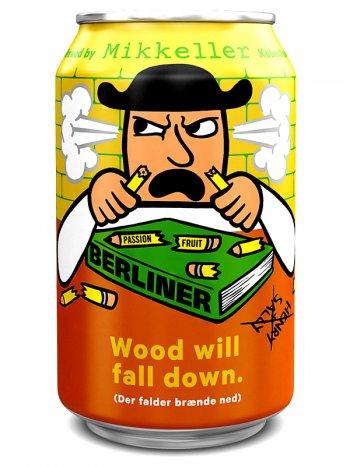 Миккеллер Вуд Уил Фолл Даун / Mikkeller Wood Will Fall Down 0,33л. алк.4,2%