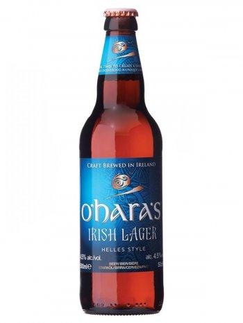 О`Хара Айриш Лагер / O`Haras Irish Lager 0,5л. алк.4,5%