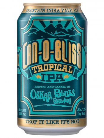 Оскар Блюз Кэн О Блисс Тропикал ИПА/Oskar Blues Can-O-Bliss Tropical IPA 0,355л. алк.7,2% ж/б.