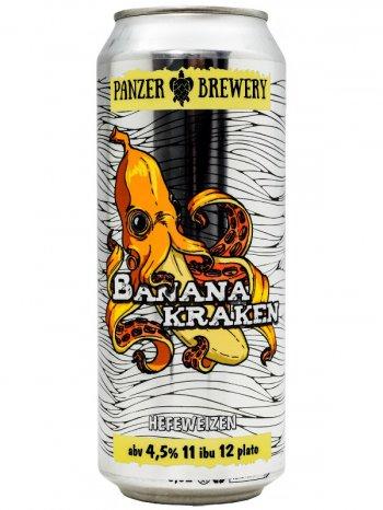 Панзер Банана Кракен / Panzer Banana Kraken 0,5л. алк.4,5% ж/б.