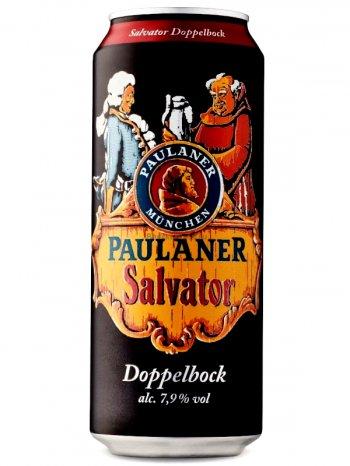 Пауланер Сальватор / Paulaner Salvator 0,5л. алк.7,9% ж/б.