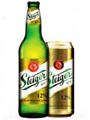 Штайгер 12% Светлый / Steiger 12% Svetly алк. 5%