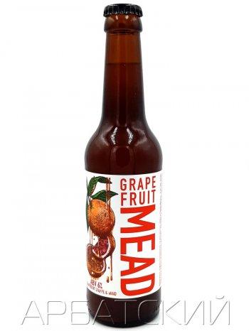 Степь и Ветер Медовуха Грейпфрут Мед / Mead Steppe Wind Grapefruit Honey 0,33л. алк.6%