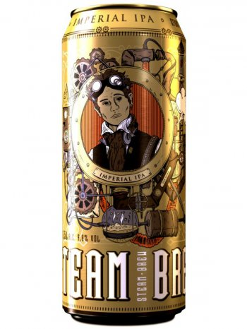 Стим Брю Империал ИПА / Steam Brew Imperial IPA 0,5л. алк.7,8% ж/б.