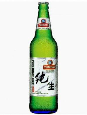 Циндао Драфт / Tsingtao Pure Draft 0,64л. алк.4,3%