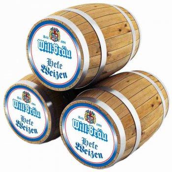 Вилл-Брау Хефе Вайсс /  Will-Brau Heffe Weizen, keg. алк.5,5%