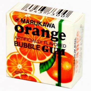 Жевательная Резинка MARUKAWA Orange / Шары Апельсин 1шт