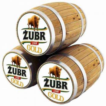 Зубр Голд / Zubr Gold, keg. алк.4.6%