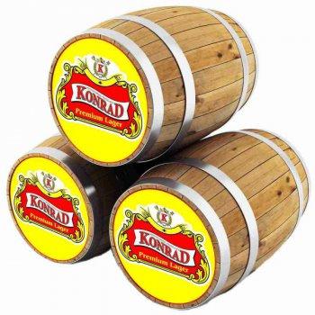 КОНРАД ПРЕМИУМ ЛАГЕР 12 / Konrad 12 Premium lezak, keg. алк.5,2%
